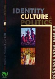 Identité, culture et politique : un dialogue afro-asiatique = Identity, culture, and politics : an afro-asian dialogue