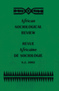 Revue africaine de sociologie = African Sociological Review