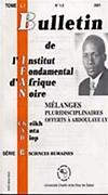 Bulletin de l'Institut français d'Afrique noire