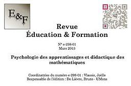 Education et formation