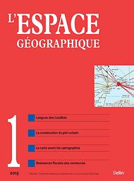 Espace géographique (English Edition)