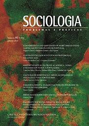 Sociologia, Problemas e Práticas