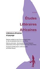 Études littéraires africaines
