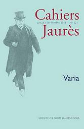 Jean Jaurès cahiers trimestriels