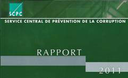 Service central de prévention de la corruption : Rapport annuel