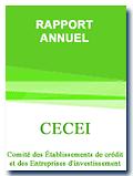 Rapport annuel - Comité des établissements de crédit et des entreprises d'investissement