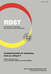 Recherches en didactique des sciences et des technologies