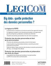 Légicom : revue du droit de la communication des entreprises et de la communication publique