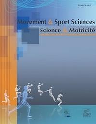 Movement & sport sciences = Science & Motricité