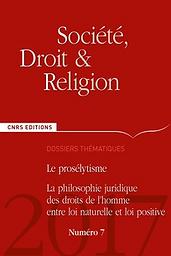 Société, droit & religion