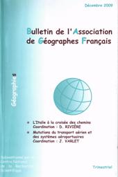 Bulletin de l'Association de Géographes Français