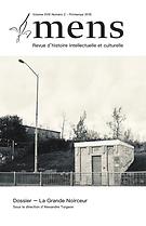 Mens : revue d'histoire intellectuelle et culturelle
