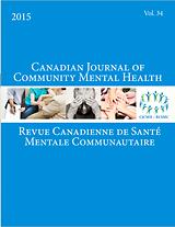 Canadian Jounal of Community Mental Health = Revue canadienne de santé mentale communautaire