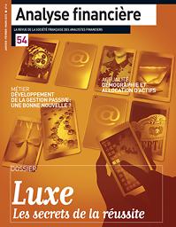 Analyse financière : la revue de la société française des analystes financiers