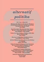 Alternative Politics = Alternatif Politika