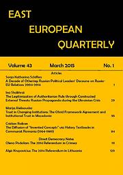 East European Quarterly
