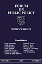 Forum on Public Policy : A Journal of the Oxford Round Table