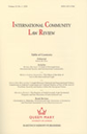 International Community Law Review