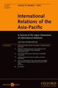 International Relations of the Asia-Pacific : A journal of the Japan Association of International Relations