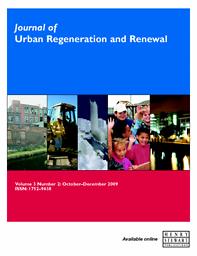 Journal of Urban Regeneration & Renewal