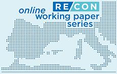 RECON Online Working Paper Series