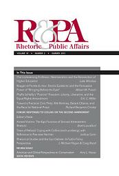 Rhetoric & Public Affairs