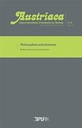 Austriaca : Cahiers universitaires d'information sur l'Autriche