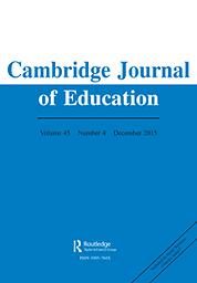 Cambridge journal of education