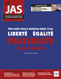 JAS : le journal de l'action sociale et du développement social
