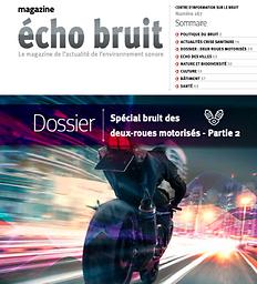 Echo bruit : le magazine de l'environnement sonore