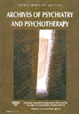 Archives of Psychiatry and Psychotherapy