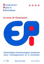 EPInet - Enseignement Public et Informatique
