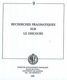 Nouveaux cahiers de linguistique française
