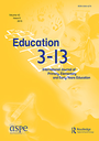 Education 3-13 : international journal of primary, elementary and early years education