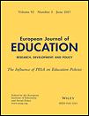 European journal of education