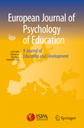 European journal of psychology of education = Journal européen de psychologie de l'éducation
