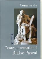 Courrier du Centre international Blaise Pascal