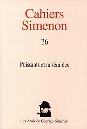 Cahiers Simenon