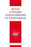 Revue d'études augustiniennes et patristiques
