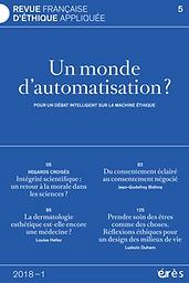 Revue française d'éthique appliquée