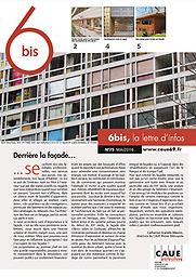 6bis : lettre d'infos du CAUE 69