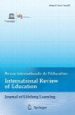 International Review of Education – Journal of Lifelong Learning