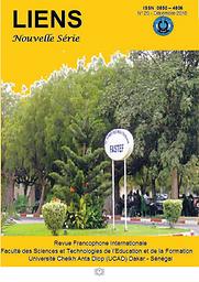 Liens ENS : revue pédagogique publiée par le Centre de recherche de l'Ecole Normale Supérieure de Dakar