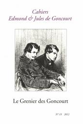 Cahiers Edmond et Jules de Goncourt