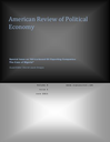 American review of political economy