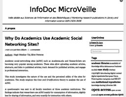 InfoDoc MicroVeille
