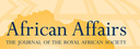 African affairs : journal of the Royal African Society