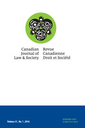 Canadian journal of law and society = Revue canadienne de droit et société