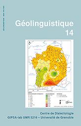 Géolinguistique : bulletin du Centre de dialectologie