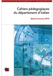 Cahiers pédagogiques du département d'italien